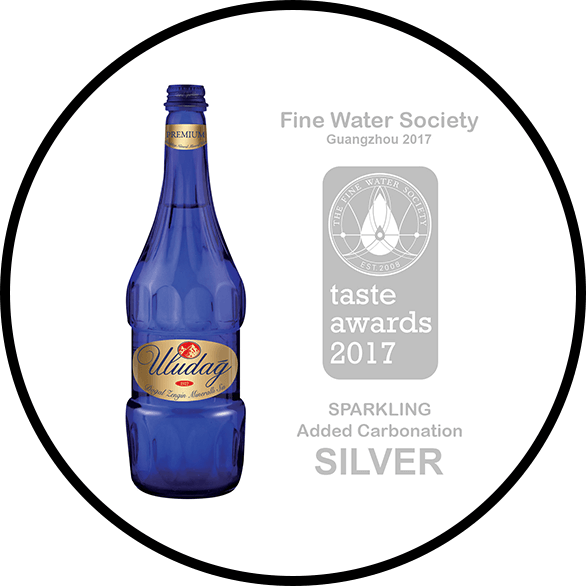 Uludağ Premium Sparkling Natural Mineral Water Has Won The Silver Award!