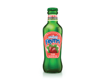 Uludağ Frutti Strawberry Flavored 200 ml Glass Bottle