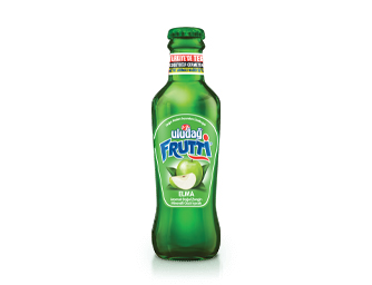 Uludağ Frutti Apple Flavored 200 ml Glass Bottle