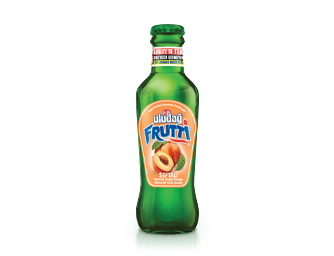 Uludağ Frutti Peach Flavored 200 ml Glass Bottle
