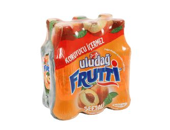 Uludağ Frutti Peach Flavored 6x200 ml MultiPack