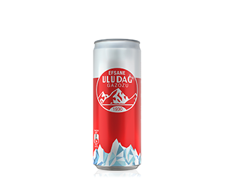 Legendary Uludağ Gazoz 330 ml Metal Can