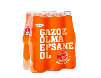 Legendary Uludağ Gazoz Orange 6x250 ml Multi-Pack