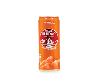 Legendary Uludağ Gazoz Orange 330 ml Metal Can